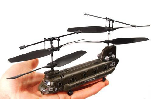 Радиоуправляемый Вертолет Syma S026 Chinook CH-47 (19 см) - В интернет-магазине