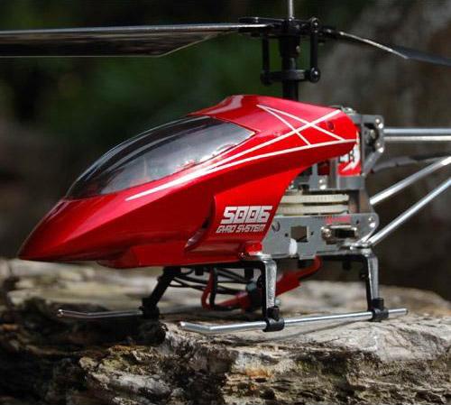 Вертолет Syma Alloy Shark S006G (37 см) - Картинка