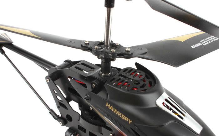 Радиоуправляемый Вертолет с видеокамерой на 1Gb LT-712 Hawkspy (36 см)