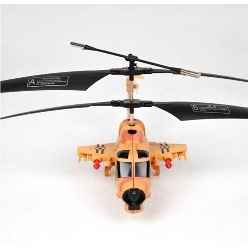 Радиоуправляемый вертолет стреляющий ракетами - Фотография