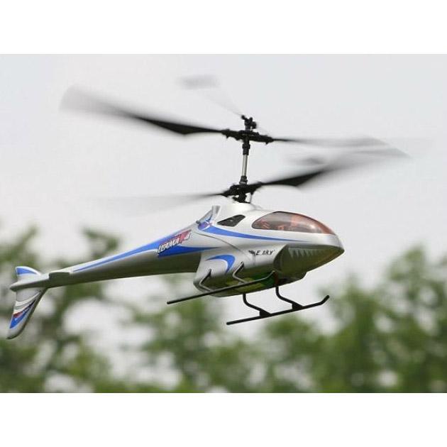 Радиоуправляемый Вертолет E-sky 3D LAMA V4 (40 см) - Картинка