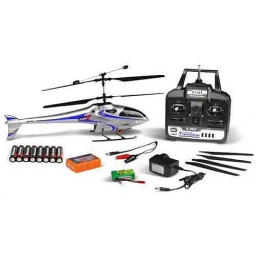 Радиоуправляемый Вертолет E-sky 3D LAMA V4 (40 см) - Изображение