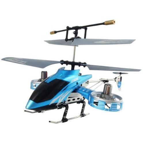 Бирюзовый Радиоуправляемый Вертолет Аватар F103 (23 см; 4-х канальный)