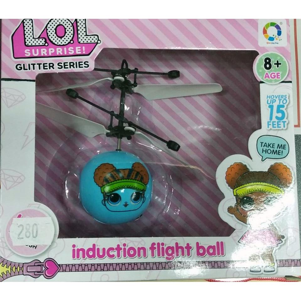 Летающий шар Кукла LOL (15 cм, управление от руки) - Фото