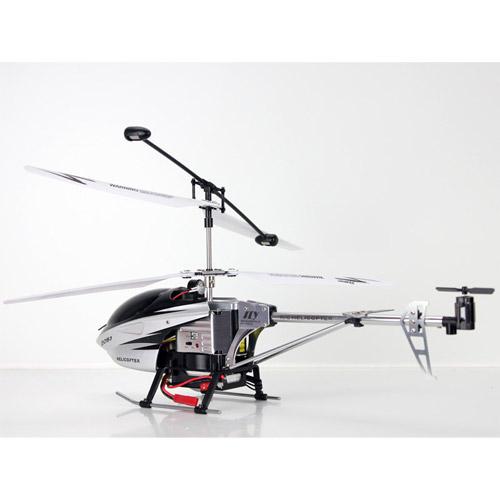 Радиоуправляемый Вертолет с камерой и трансляцией видео на пульт (36 см) - Фотография
