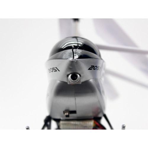 Радиоуправляемый Вертолет с камерой и трансляцией видео на пульт (36 см) - Фото