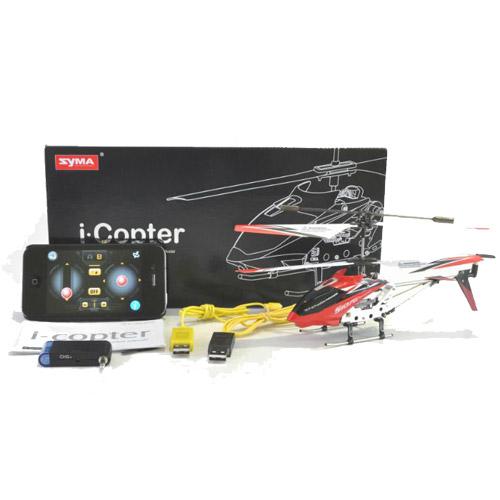 Вертолет Syma S107 i-Copter (19 см; iPhone и Android) - В интернет-магазине