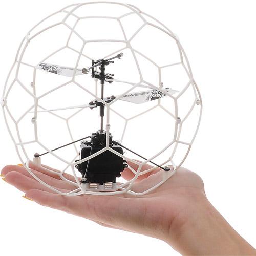 Летающий мяч в сетке управляемый руками (15 см) - Фото