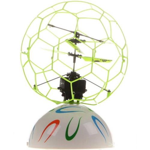 Летающий мяч в сетке управляемый руками (15 см) - Фотография
