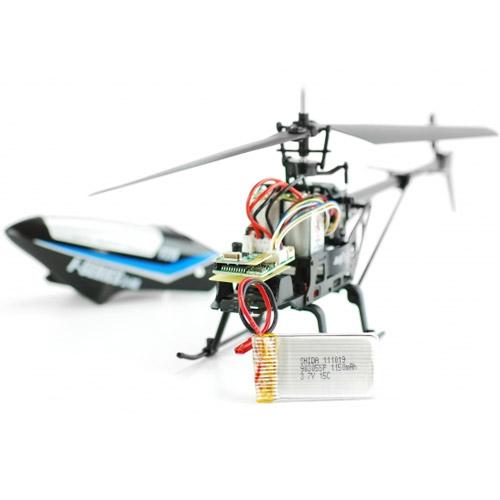 Вертолет с пультом управления MJX F629 (43 см, 2,4 ГГц, 4-х канальный) - Фотография