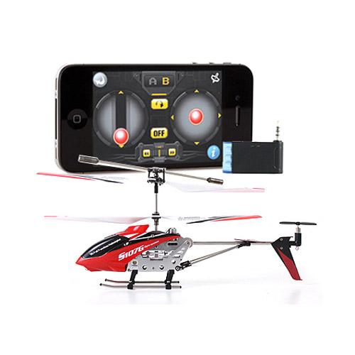Вертолет Syma S107 i-Copter (19 см; iPhone и Android)