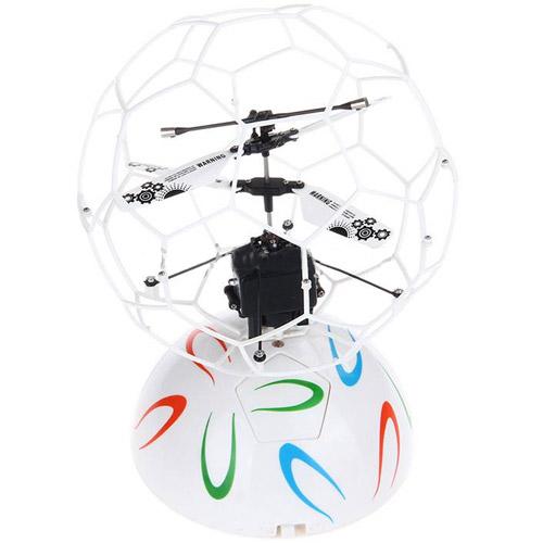 Летающий мяч в сетке управляемый руками (15 см)