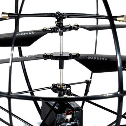 Летающий Шар-Шпион (трансляция видео, управление со смартфона, 25 см) - Фотография