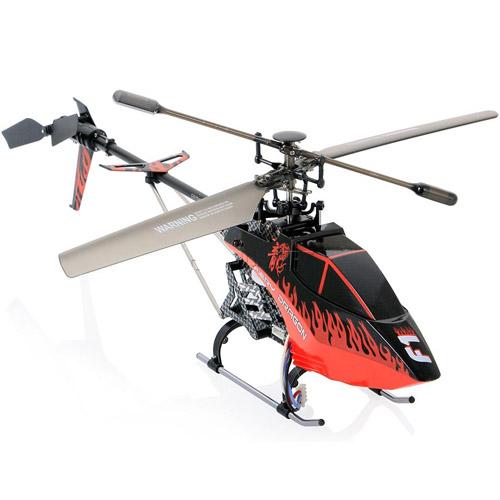Красный Одновинтовой Радиоуправляемый Вертолет Syma F1 Fiery Dragon (2.4Ghz, 53 см)
