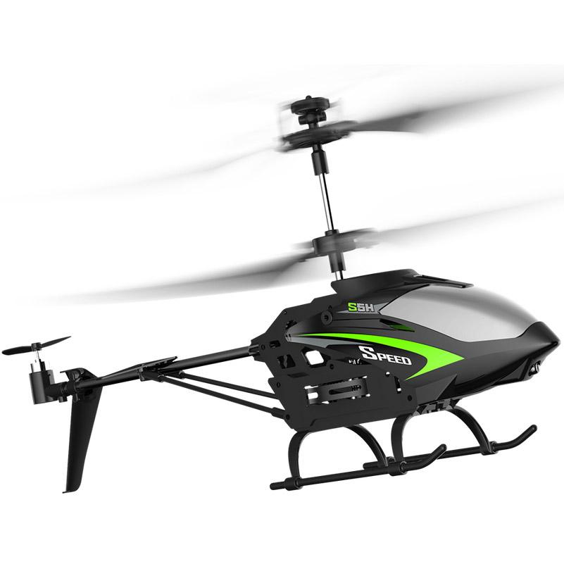 Черный Радиоуправляемый Вертолет Syma S5H (20 см)