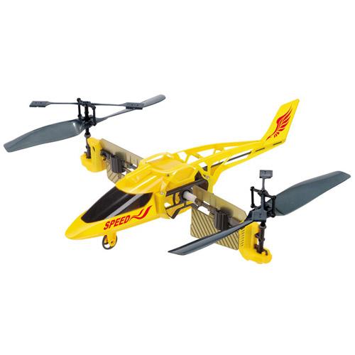 Радиоуправляемый Вертолет-перевертыш (вертикальный полет)