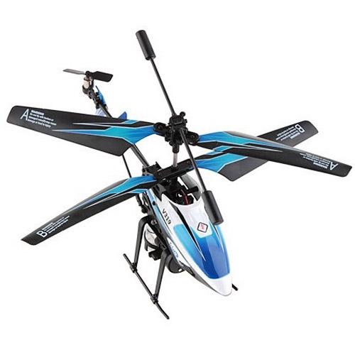 Радиоуправляемый Вертолет стреляющий водой (18.5 см) - Фото