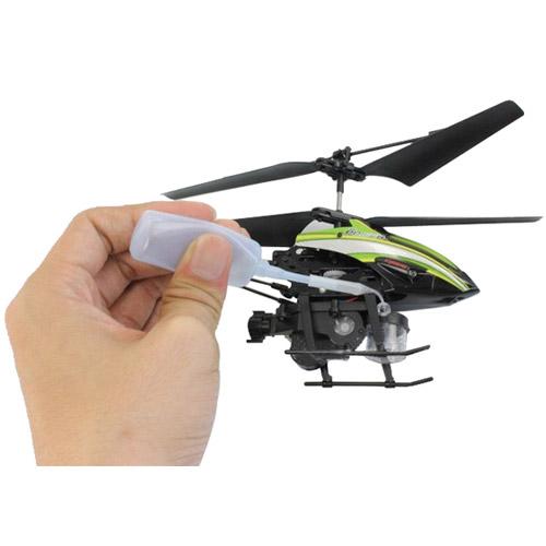 Радиоуправляемый вертолет пускающий мыльные пузыри (19.5 см) - Фото