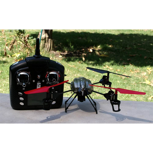 Радиоуправляемый Квадрокоптер с видеокамерой (19 см, 4-х канальный) - В интернет-магазине