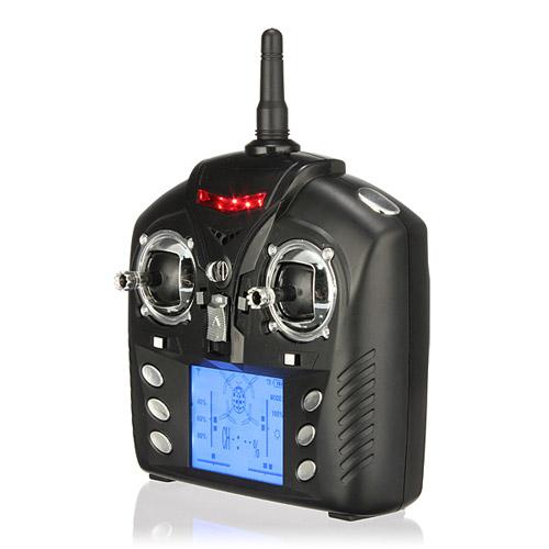 Радиоуправляемый Квадрокоптер с видеокамерой (19 см, 4-х канальный) - Фото