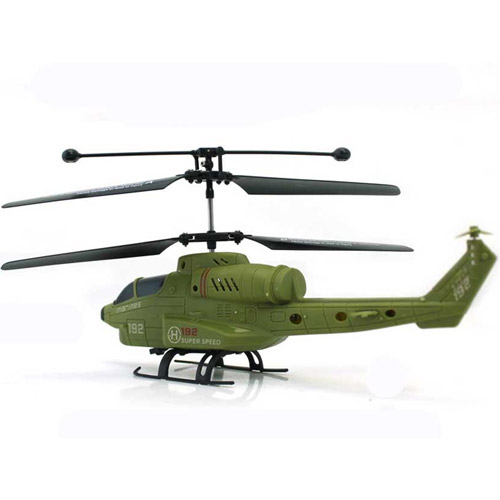 Радиоуправляемый Вертолет военный (19 см)
