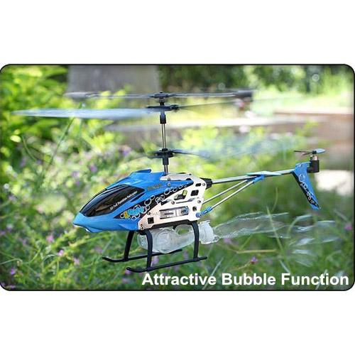 Вертолет пускающий мыльные пузыри Syma S107P (19 см) - Фото