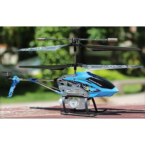 Вертолет пускающий мыльные пузыри Syma S107P (19 см) - В интернет-магазине
