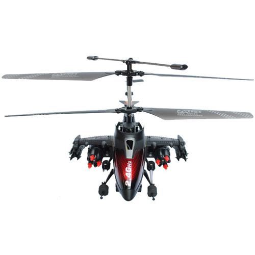 Вертолет стреляющий ракетами F187 с пультом управления (28 см, 2.4GHz) - В интернет-магазине