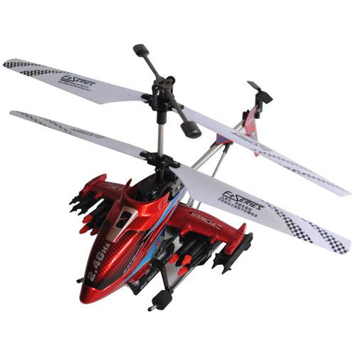 Вертолет стреляющий ракетами F187 с пультом управления (28 см, 2.4GHz)