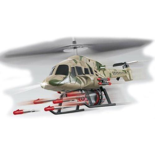 Вертолет стреляющий ракетами s004