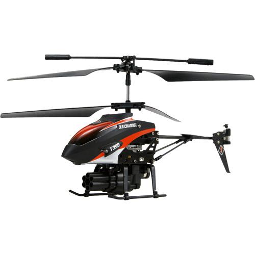 Радиоуправляемый вертолет стреляющий ракетами (21 см)