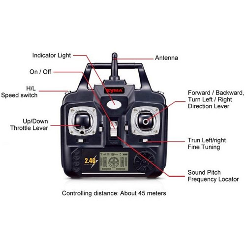 Радиоуправляемый Вертолет Syma S37 (47 см, 2.4Ghz)