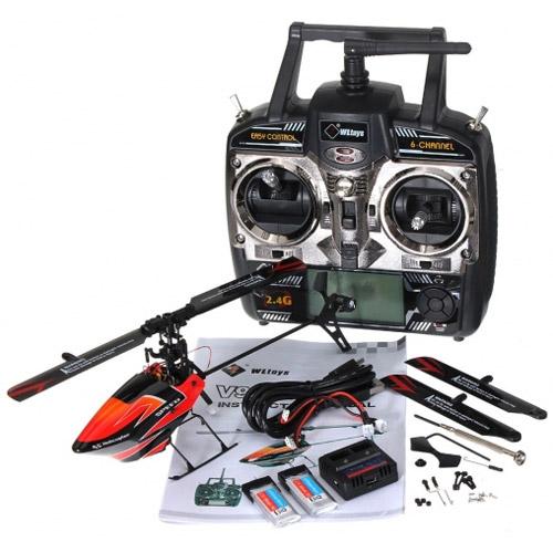 Радиоуправляемый Вертолет для 3D пилотажа WLToys V922 (24 см) - Фотография