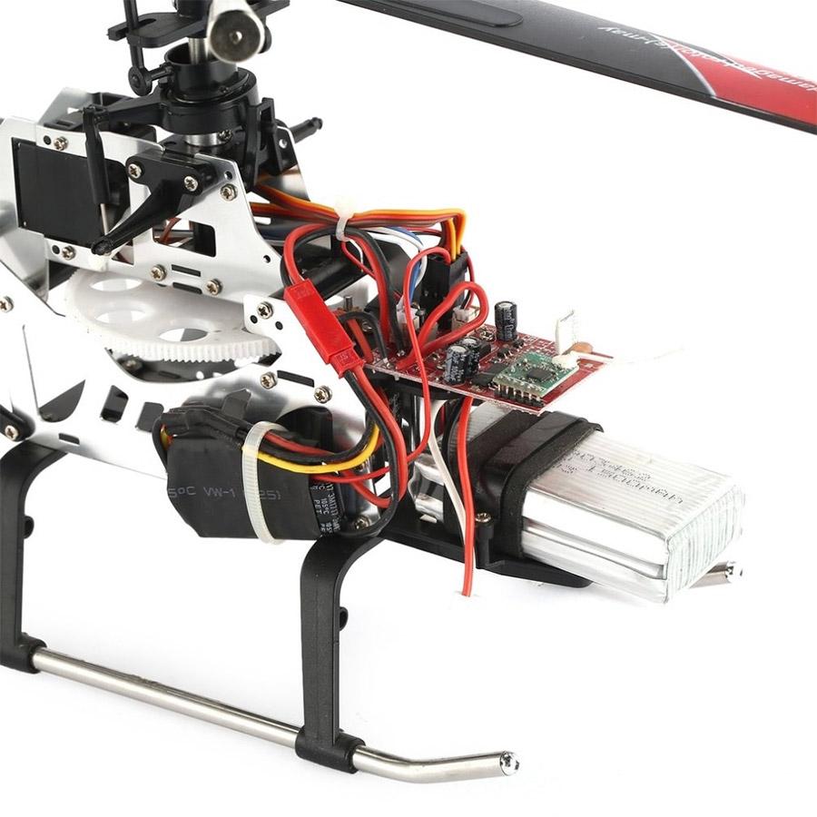Большой Радиоуправляемый Вертолет Sky Leader (62 см, 2.4Ghz) - Фото