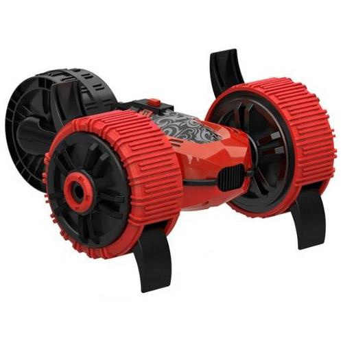 Красный Радиоуправляемый Трехколесный Перевертыш-амфибия (25 см)