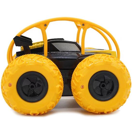 Радиоуправляемый Джип-амфибия с надувными колесами (22 см.) - Картинка