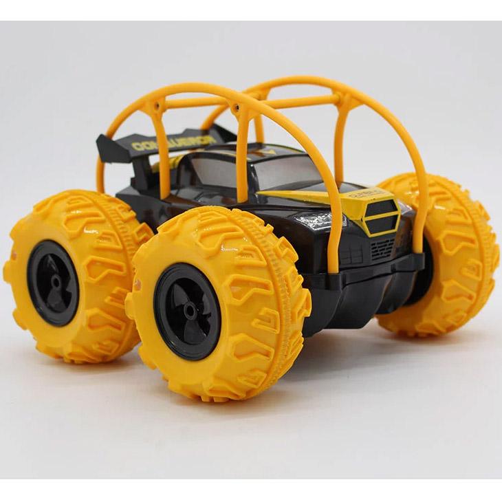 Радиоуправляемый Джип-амфибия с надувными колесами (22 см.) - Изображение