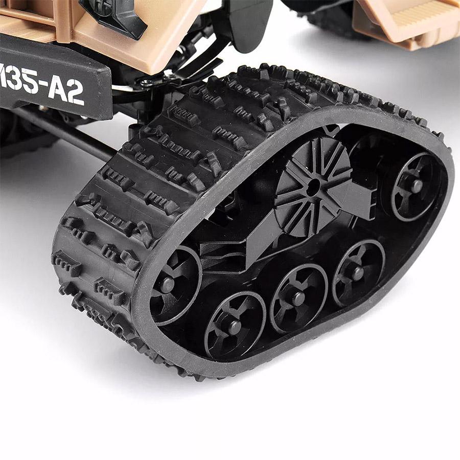 Радиоуправляемый Военный Грузовик на гусеницах (4x4, 1:16, 34 см.) - В интернет-магазине