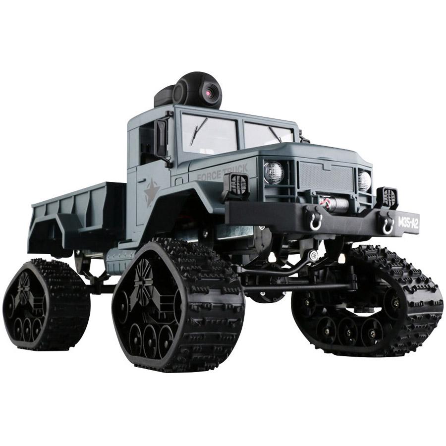 Радиоуправляемый Военный Грузовик на гусеницах (4x4, 1:16, 34 см.) - Фотография