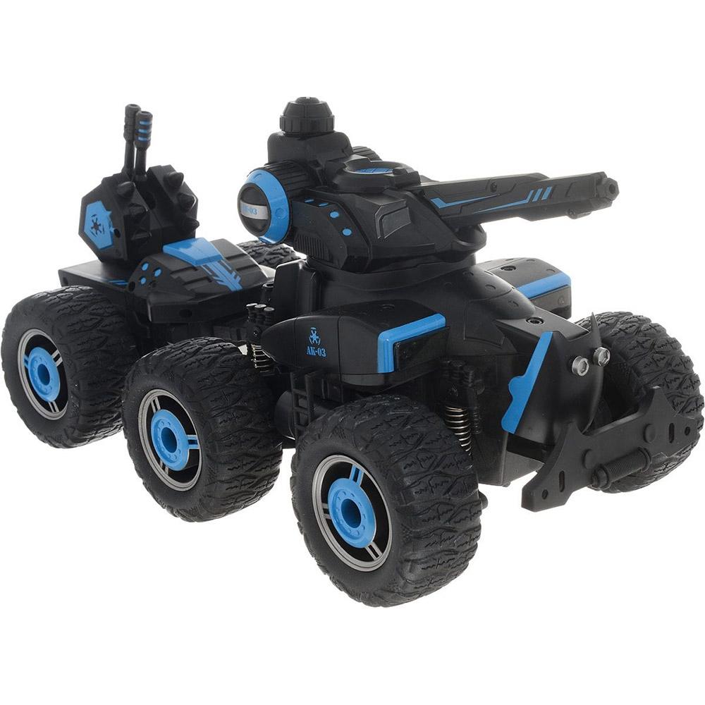 6-ти колесный Радиоуправляемый Внедорожник-Танк (водяная пушка, 24-35 см)