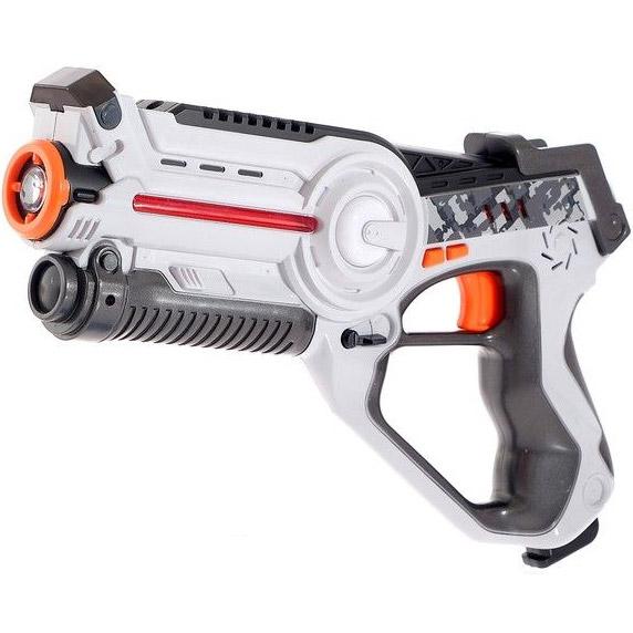 Серый Тир лазерный пистолет и бегающий жук