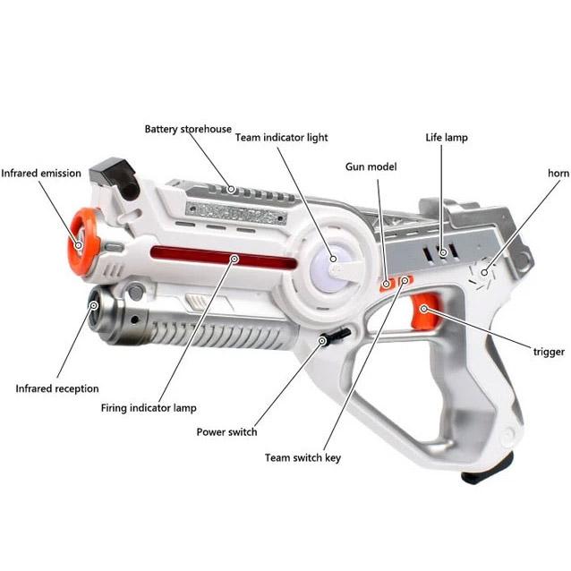 Тир лазерный пистолет и бегающий жук - В интернет-магазине
