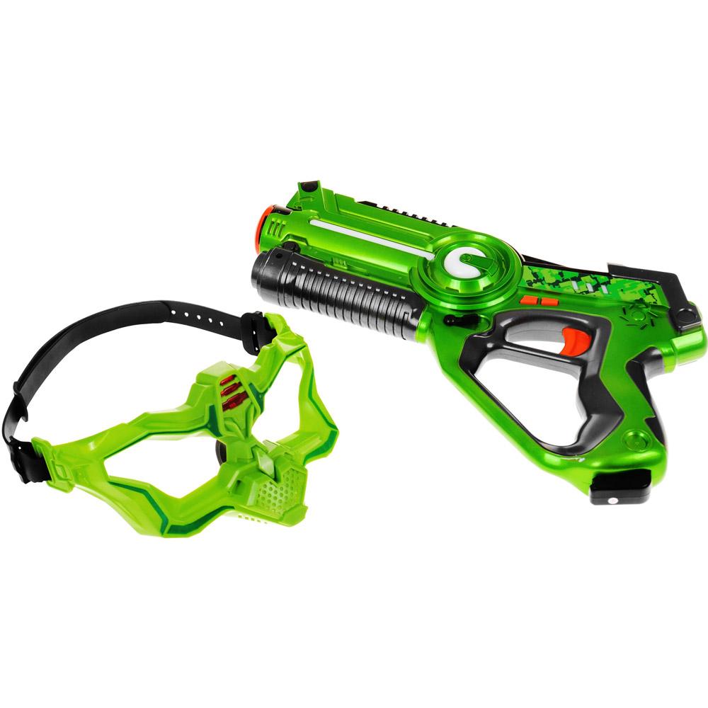 Набор Лазерный бой (2 бластера и 2 маски) - Фотография
