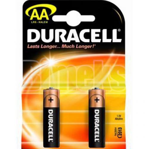 Батарейки Duracell AA 2 шт.