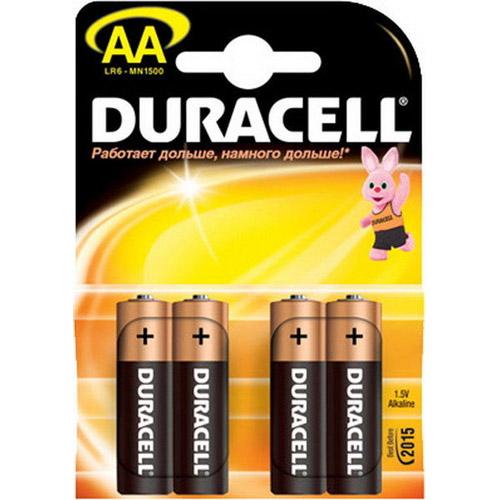 Батарейки Duracell AA 4 шт.