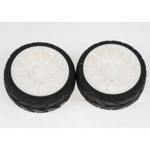 82829 Шоссейные колеса (оправа+резина) (2 шт) для моделей 1:16 HSP