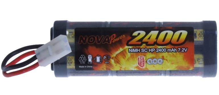 Аккумулятор Ni-Mh 2400 мАч 7,2V для Tamiya